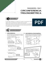 T S7 Circunferencia Trigonométrica