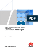 HUAWEI AR G3 Series Enterprise Routers L2TP Feature White Paper