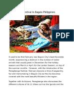Panagbenga Festival in Baguio Philippines