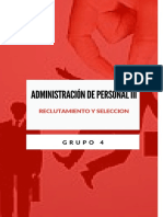 reclutamiento y seleccion