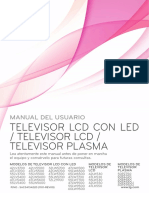 TV LG 42lv3700 Manual Español