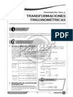 T S12 Transformaciones Trigonométricas