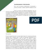 Uso de Agroquimicos y Fertilizantes