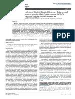 Mass Spectrometry & Purification Techniques