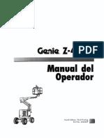 Plataforma Genie Z45