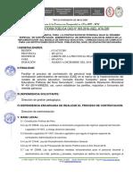 Convocatoria CAS II