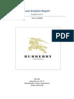 Ex3 2015F Assignment2 Franca Lehfeldt [a] Burberry