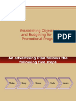 budgeting for promotional program