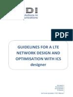 LTE Guidelines in ICS Designer v1.3