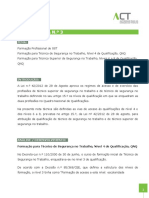 Nota Tecnica 003 Formacao Para TSTeTSST