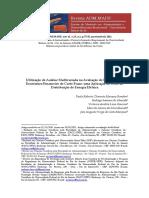 Análise multivariada indicadores  de econômicos e finaceiros