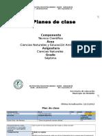 Plan de Clase Ciclo 3 Grado 7 Periodo 1