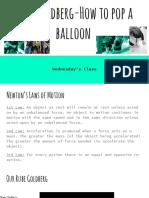 balloon pop rube goldberg
