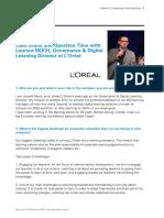 L'Oréal Digital Learning Experience