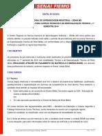 Senaitecsmart.starlinetecnologia.com.Br Senai Passoapasso Prematriculatecnico Edital