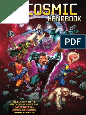 Mutants&Masterminds Cosmic Handbook | Superman | Superheroes