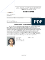 Habitual Offender Warrant Apprehension Detail