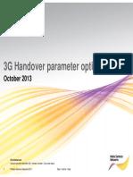 3G Handover Optimization
