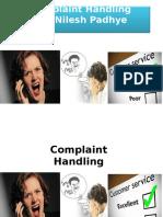 Complaint Mgt