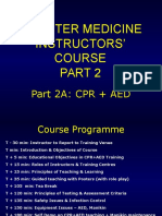 Disaster Medicine Instructors' Course
