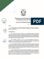 Resoluci+¦n N-¦024-2016-SINEACE-CDAH-P