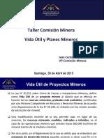 3 - Vida Util y Planes Mineros - I Cerda - Comision Minera