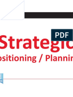 KDI PROJECT WORK 7 Strategic Positioning and Planning