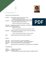 CV Matéo Lacour