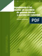 Plantas de Sacrificio Colombia