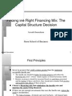 capstrN ppt on Corporate Finance