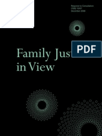 Family Justice in View