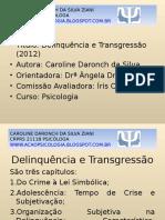 Delinquência e Transgressão