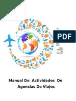 Cuaderno Actividades Agencia de Viajes