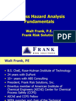Process Hazard Analysis Fundamentals