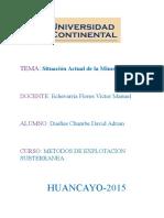 Mineria Actual en El Peru David