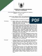 Permen-esdm-33-2008harga Jual Listrik Oleh Pelayanan Listrik BATAM