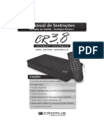 Manual Receptor Cromus CR 3 8