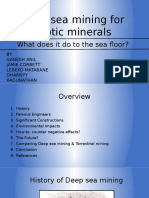 Deep Sea Mining Presentation