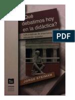 Steiman - Qué Debatimos Hoy en La Didáctica-cap.4 (1) (1)