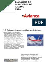 Analisis de Estados Financieros de Empresa Holding Internacional