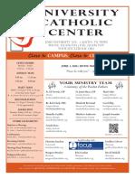 UCC Bulletin 4-03-2016