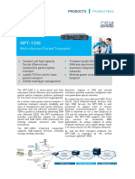 Npt 1200 Product Note
