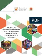 SEDECO Informe de Politica de Proteccion_Mercados_Publicos
