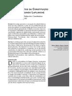 CAMPOS, Os Fundamentos Da Constituição Subjetiva Segundo Laplanche