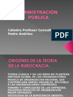 Burocracia Administración Pública