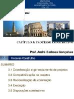Capítulo 3 - Processo Construtivo