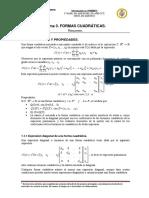 Resumen Tema 3. Formas Cuadráticas _sin Autovalores