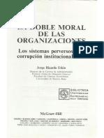 La Doble Moral de Las Organizaciones - Jorge Etkin