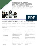 Por Qué Es Importante La Cultura Organizacional Para Una Empresa