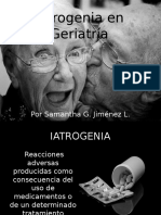 Iatrogenia en Geriatría - MI
